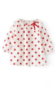 Mini Boden 'Pretty' Woven Top (Little Girls & Big Girls) | Nordstrom