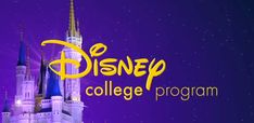 Do you want an incredible internship at the most magical place on earth? Apply to the Disney College Program today! Learn more at  disneycollegeprogram.com.