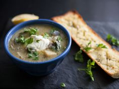 Clam Chowder with Fresh Dill and Parsley