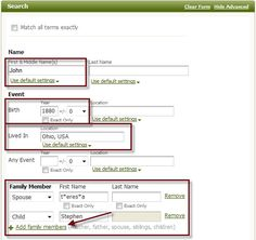 Did you know you can search without a surname? Click here for details and more search tips and tricks.