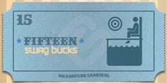 I won the limited edition 15 Swag Buck Bill at Swagbucks #swagbucks