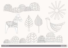 Print out for kidlets to colour in