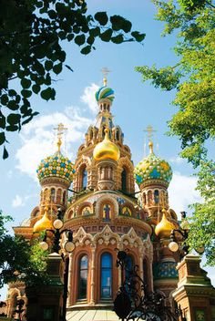 Cathedrals in St. Petersburg, Russia