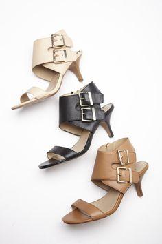 Beautiful buckle heels.