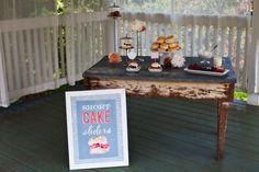 strawberry shortcake table