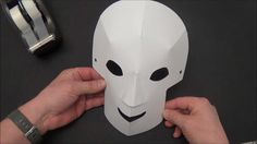 How to make dimensional paper masks for Day of the Dead