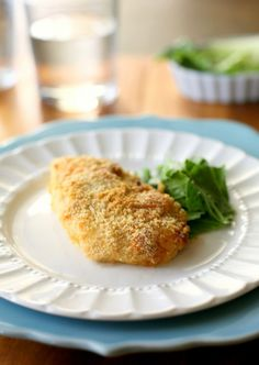 Baked Parmesan Caesar Chicken | The Girl Who Ate Everything