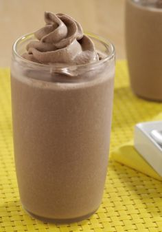 Chocolate Peanut Butter Banana Smoothies are made with chocolate pudding, ripe bananas, and creamy peanut butter. Such a quick, indulgent treat!