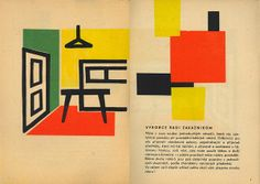 A 1959 Czechoslovak How to Paint brochure designed in a very modern tone by an anonymous designer. Source: 108 Buddhas
