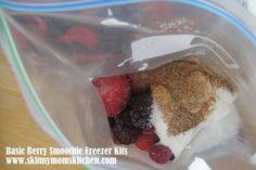 Smoothie freezer kit