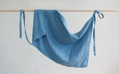 Linen Aprons - knee or calf length. Hand dyed with plant extracts and sewn in my Peckham studio.