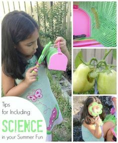 10 Summer Science Experiments