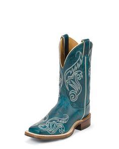 Women's Turquoise Damiana Boot - BRL211