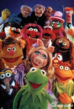 The Muppet Show music, memori, jim henson, old school, 1970s, the muppets, childhood, friend, kid