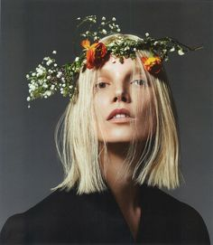 Model: Suvi Koponen  Photographers: Mert & Marcus