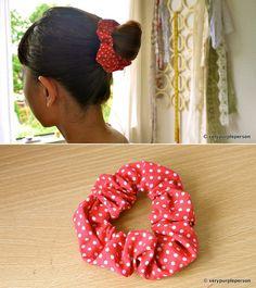 DIY: hair scrunchies