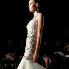 Ines diSanto wedding dress, fall 2014 collection. Photo: Charanna K. Alexander/The New York Times