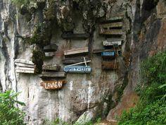 The Hanging Coffins - Sagada, Philippines