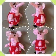 The Clangers Knitting Pattern : Crafty on Pinterest