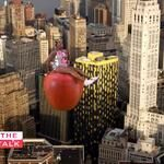 @sherylunderwood makes a big entrance channeling Miley Cyrus 2 announce: #THETALK's swinging back to NYC,12/9-12/13!