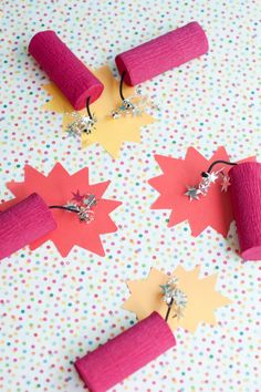 4th of July Dynamite Party Favor DIY