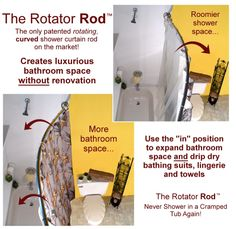 Rotator Rod — Dorm Room Space-Saving Special -- A Back to School Coupon Code for August!