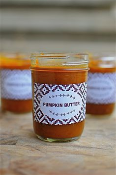 free printable and pumpkin butter recipe!