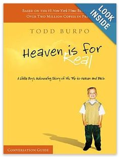 HEAVEN IS FOR REAL BOOKS~ FAMILY FRIENDLY, FAITH BASED MOVIE RELEASED THIS EASTER 2014