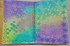 Dylusions Creative Journal; adventures in art journaling