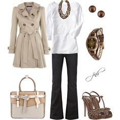 Shades of Brown, created by jill-hammel on Polyvore