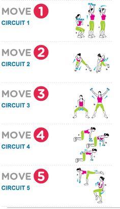Circuit workout - women's health