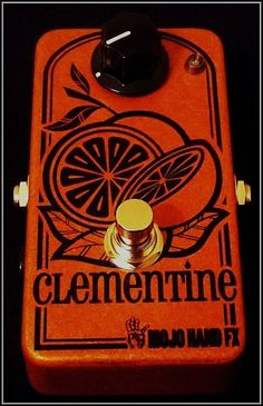 Mojo Hand FX Clementine Compressor Pedal