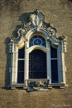 ornate window by Magda of Austin, via Flickr