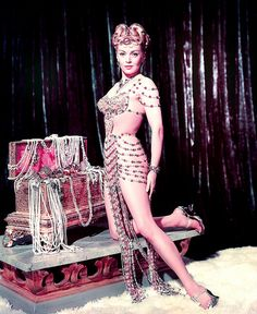 Lana showgirl costume