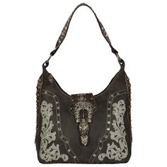 Women's Embroidery and Gator Print Handbag - http://www.besthandbagsdeals.co/top-handle/womens-embroidery-and-gator-print-handbag/ #Embroidery, #Gator, #Handbag, #Print, #Womens