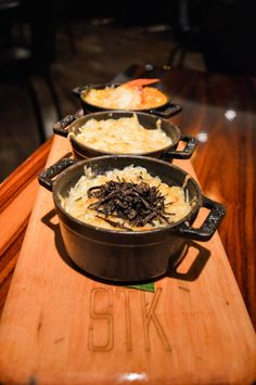 STK puts a grown-up twist on the traditional Mac & Cheese with this ...
