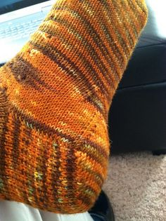 Double-gusset .  My next socks!  photo by cbturtlegirl76, via Flickr