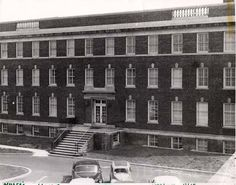 Mercy-Douglass School of Nursing. The Nurses' Homes--The Warlick Building. Image courtesy of the Barbara Bates Center for the Study of the History of Nursing.