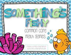 Common Core Math Games!