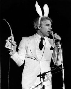 Steve Martin. 1978. Grand Ole Opry House. Front row seats with hubby and best friend. Yep, happy memories.