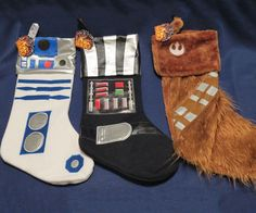 Star Wars Christmas Stockings http://www.thisiswhyimbroke.com/star-wars-christmas-stockings