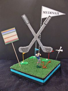 all kinds of golf centerpiece ideas