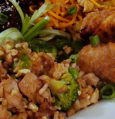 The Kitchen Witch: How to Make Shrimp Fried Rice with Tender Pork and Broccoli