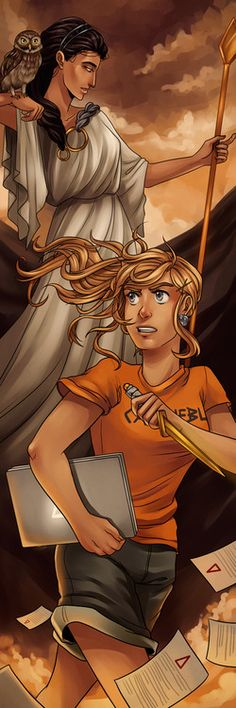 Annabeth and Athena