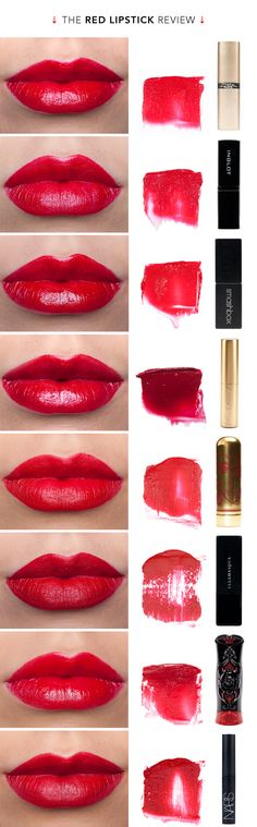 great red lipstick review