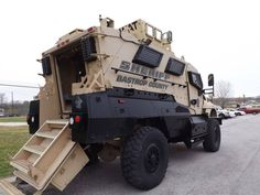 Bastrop County, TX Sheriff - SWAT armored tactical vehicle