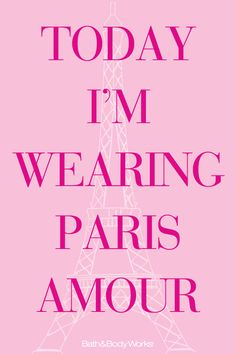 Shouldn't you? #ParisAmour