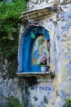 Shrine, Sorrento, Italy