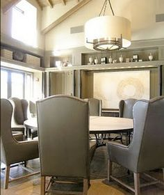 wingback dining