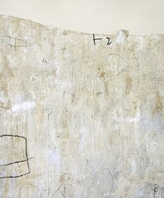 Susanne Carmack - White Story. Mixed media on canvas.